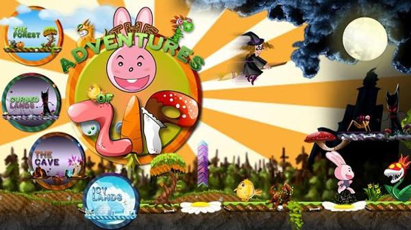 The adventures of Zip - приключения розового кролика