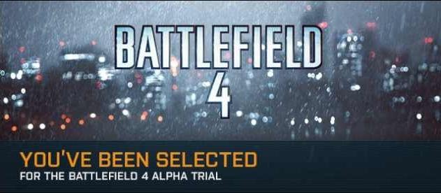 альфа-тестирование Battlefield 4