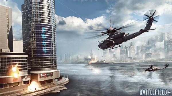 Окружающая среда - игровой инструмент в Battlefield 4