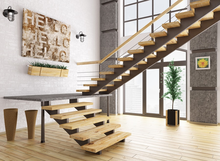 Деревянная лестница - уют и безопасность