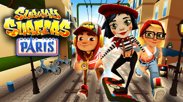 Игра Subway Surfers Paris для Android устройств